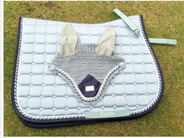 Selling: Equito peppermint saddle pad and ears