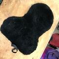 Selling: Black Faux Sheepskin Seatsaver