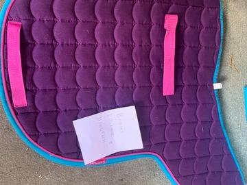 Selling: Cottage craft saddle pad